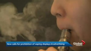 Health group urges Ontario to keep vapes out of sight from minors
